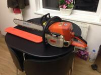 "Stihl 039 20"" petrol chainsaw working order"