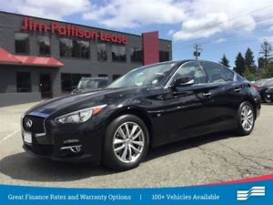 2014 Infiniti Q50 Premium w/NAV, leather, roof
