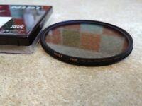 NiSi DUS Ultra Slim PRO MC C-PL 82mm circular polarizer filter