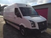 VW CRAFTER LWB 2.5TDI , 2011REG, EURO 5, FOR SALE