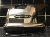 Omega Juicer 8006 Chrome Nutrition Centre