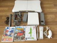 Nintendo Wii console white bundle with Wii fit board