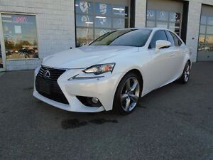 2014 Lexus IS 350 Perl white Navigation AWD Reverse camera