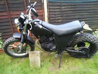 Yamaha TW125 Custom Learner Legal 125cc Motorbike