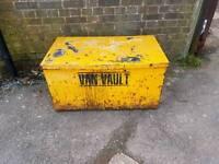 VAN VAULT MEDIUM SIZE VAN SAFE STORAGE...CHEST, BOX, METAL, TOOLS