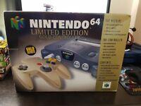 Limited Edition Nintendo 64 Gold Controller Edition + Goldeneye.