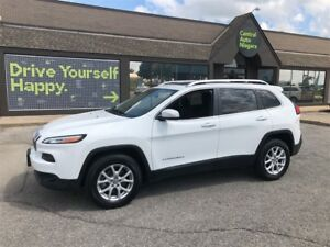 2017 Jeep Cherokee NORTH / 4X4 / SUNROOF / BACK UP CAMERA