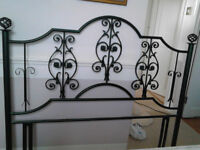 Headboard for standard size double bed