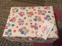 Girls Jewellery Box - Cath Kids Keepsake Floral Fabric Box, UNWANTED gift, NEVER been used