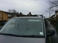 Thule roof bars with VW T5 foot pack