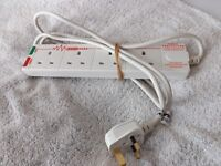 4 way .. 13 amp Anti - Surge Protector Extension lead