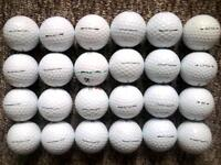 24 Titleist NXT Tour and Velocity golf balls most as new condition