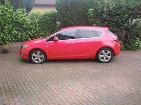VAUXHALL ASTRA SRI DIESEL SMOOTH & ECONOMICAL £ 30 TAX TOP SPEC FULL SERVICE HISTORY IMMACULATE CON