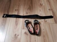 Girl shoes and belt
