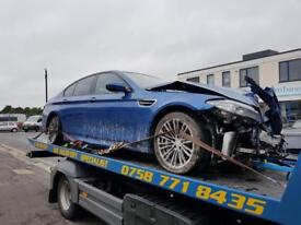 BMW M5 F10 Breaking Salvage 5 Series Blue spares parts 2105
