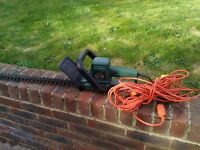Hedge trimmer, Black and Decker electric