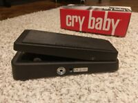 Dunlop Cry Baby Wah Pedal - Guitar Effects Pedals Original