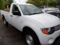 2012 MITSUBISHI L200 SINGLE CAB ONLY 31000 MILES , WHITE , NO VAT , SERVICED