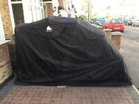 Motorcycle tent/ shed