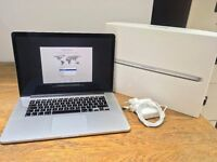 "Apple MacBook Pro Retina 15.4"" Late-2013 Immaculate Boxed ME293B/A"