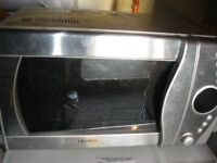 COMMERCIAL STAINLESS STEEL MICROWAVE/CONVECTION/GRILL OVEN. GOOD ORDER. VIEWING/DELIVERY AVAILABLE