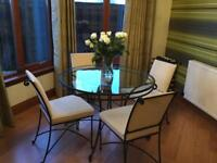 M&S 4 seater table, coffee table & side table