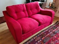 Sofa bed 2 seater, hardly used, excellent condition