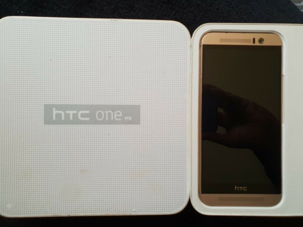 Htc One M9 Gold On Silver In Bettws Newport Gumtree