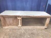 Rabbit hutch FREE DELIVERY PLYMOUTH AREA