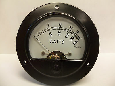 Bird 43 Thruline 30Ua Replacement Wattmeter Element / Slug Reading Meter Face