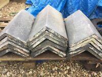 "Used Ridge Tiles: Dark Grey Ceramic Period Ridge Tiles 20"" (450mm)"