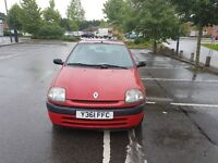 Renault Clio 1.2 Grande Y Reg. , Long MOT , 86K , Good Condition ****Bargain**** DON'T MISS IT****