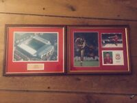 Liverpool football club framed pictures