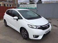 Honda Jazz 1.3 i-VTEC EX CVT 5dr (start/stop)£10,950 p/x welcome 1YEAR FREE WARRANTY.NEARLY NEW