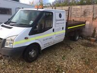 2008 ford transit tipper
