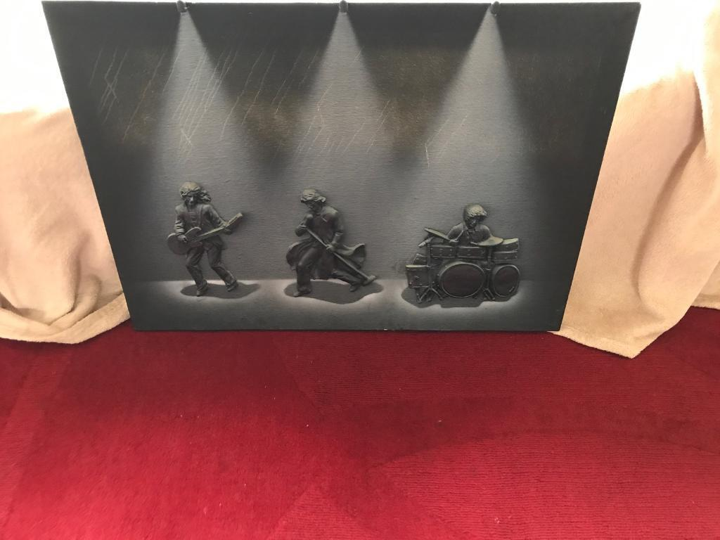 Lighted rock band canvas