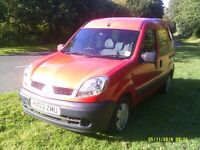 RENAULT KANGOO AUTHENIQUE 2003 DCI 1.5 DIESEL