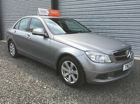 LATE 2008 MERCEDES C200 CDI SE 135 BHP AUTO 6 MONTHS WARRANTY DEBIT & CREDIT CARDS ACCEPTED
