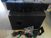 Cambridge Soundworks - 5.1 Speakers and Subwoofer (no amp)