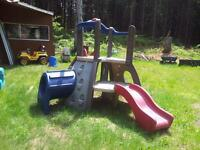 Little Tikes play climber and slide