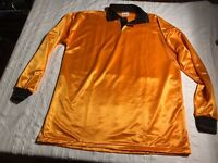 FALCON Football Long Sleeve Top Orange New Unused Various Sizes Available
