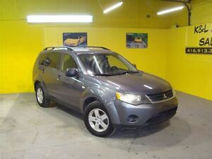 2008 Mitsubishi Outlander LS ~ 4X4 ~ CERTIFIED & E-TESTED ~