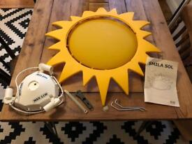 Ikea children's 'smila sol' sun light