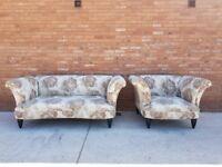 DFS 'Concerto' Floral Sofa & Armchair