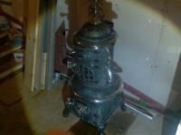 antique coal woodstove