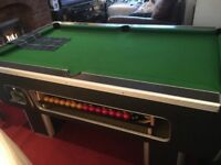 Snooker/pool table free or money operated optional