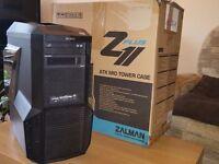 Zalman Z11 Plus Blue Led PC Case