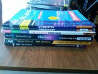 6 A level Chemistry Textbooks