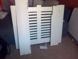 RADIATOR CABINET SMOOTH WHITE
