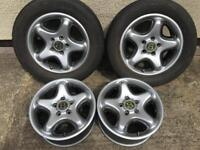17' genuine Bentley arnage alloy wheels